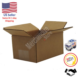 200 6x4x4 Corrugated Cardboard Shipping Mailing Packing Moving Boxes box Carton