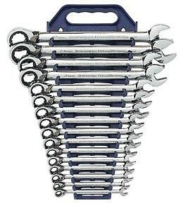 Gearwrench 16pc Master Metric Reversible Ratcheting Wrench Set 8 25mm 9602n