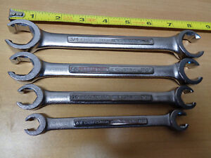 Usa Made Craftsman Industrial Sae Standard Inch Line Flare Nut Wrench Set