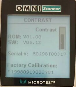Fluke Microtest Omniscanner Firmware Upgrade 6 12