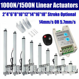 Heavy Duty 12v Linear Actuator Electric Dc Motor Solar Tracker Auto Medical Lift