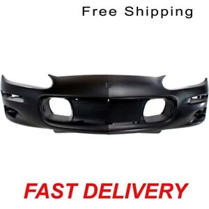 Primered Front Bumper Cover Fits Chevrolet Camaro 12335525 Gm1000547