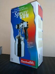 New Devilbiss Finishline Flg 622 322 Hvlp Suction Feed Spray Gun And Cup 510322