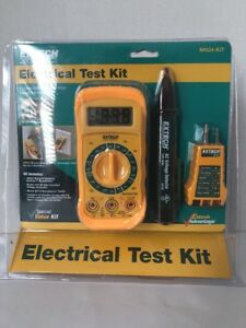 Electrical Test Kit Extech Mn24 kit Brand New