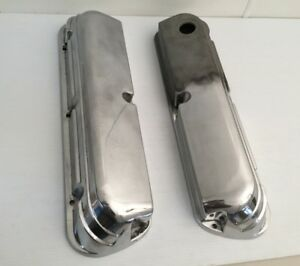 1987 95 Ford Aluminum Valve Covers Pair Fize 6583 F2 6a513 F2a