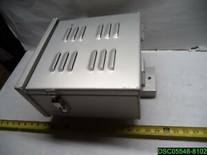 Aluminum Enclosure Box With Buss Bar And 10a Fuse Links New
