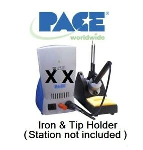 Pace Tip Iron Stand 1257 0258 Hw100 Tw100 Soldering Systems Reg 74