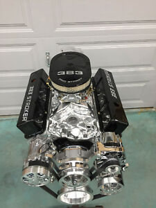 383 Stroker Crate Engine 516hp Sbc With A C Roler Turn Key Th350 Trans Included