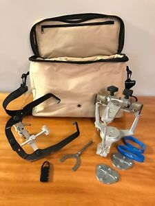 Whip Mix Dental Articulator And Facebow With Whip Mix Universal Tote Bag