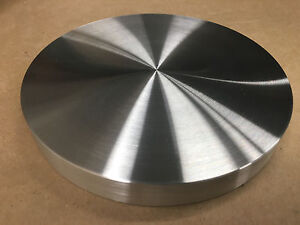 Aluminum Round Disc 10 Diameter Bar Circle Plate 1 Thick very Flat Nice Usa