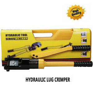 Quick Hydraulic Pliers Wire Cable Lug Terminal Crimper Tool 14 300mm2