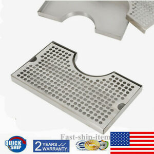 New Beer Tower Drip Tray Stainless Steel 304 No Drain Holes Polished No Drainage