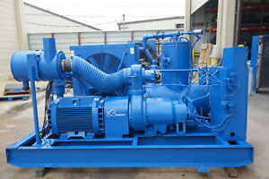 1999 Quincy Qsi 1000 200 Hp Rotary Screw Air Compressor