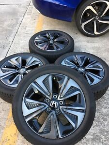 17 Inch Honda Civic Rims Rines Llantas Wheels Tires Factory Oem