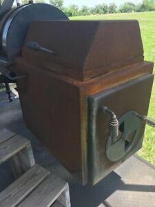 Bbq Grill Smoker Trailer Concession Catering Competition Grill W roof