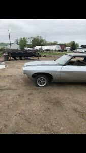 1970 Chevy Impala Used Parts