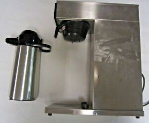 Commercial Bunn Pourover Airpot Coffee Brewer Model Cw15 aps Airpot 10 Urnex