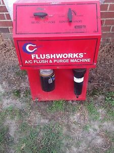 Cliplight Flushworks 400fjp A c Ac Flush Purge Machine Made In Canada Automotive