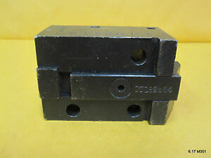 Square Bolt On Tool Holder For Cnc Machine 35mm X 38mm Pattern 13mm Dovetail Bar