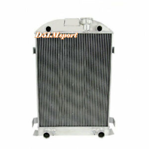 4row All Aluminum Radiator Fits Ford Model A Flathead V8 Engine 1930 1931