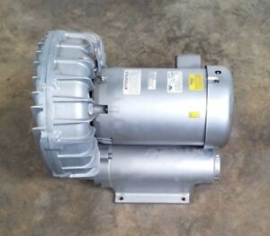 New Gast R7100a 3 Regenair Blower In out 2 3 4 Max in h20 126 115 Baldor