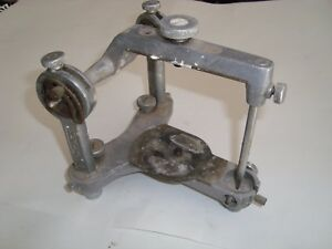 Vintage Hanau Dental Articulator Denture Equipment Antique