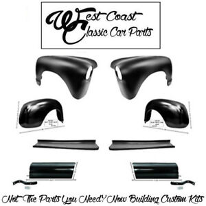 1947 1953 Chevy Truck Fenders Front Rear Running Boards