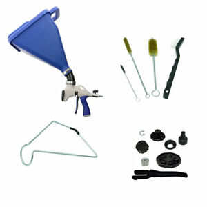 Marshalltown Sharpshooter 2 1 Drywall Texture Hopper Spray Gun power Pack