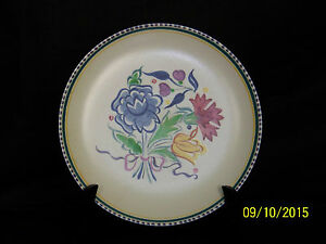 Poole Studio Art Pottery Sylvia Penny Design Hand Painted Large Charger