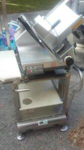 2015 Bizerba Gsp hd Automatic Gravity Meat Cheese Deli Slicer Hobart Stand
