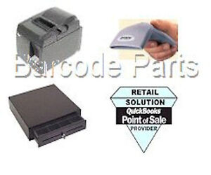 Quickbooks Pos 18 0 Citizen Hardware Pos Bundle 1 Printer Scanner