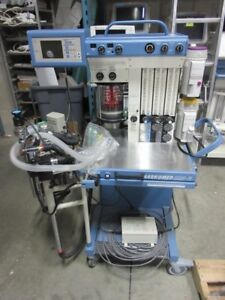 Drager Narkomed Mri 2 Anesthesia Machine W Iso Des Vaporizers