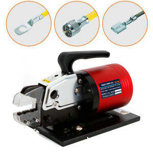 Pneumatic Wire Terminal Mobile Crimping Machine Crimper Tool Foot Valve 1 3t