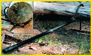 Forester Log Lift cant Hook Turn Lift Logs all Steel W removable Stand 51 l