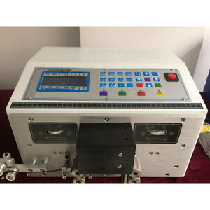 Sto Auto Computer Double Wire Peeling Stripping Machine Cable Cutting 0 1 2 5mm