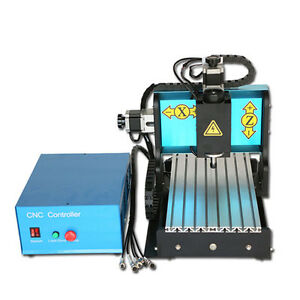 St 110v 300w 3 Axis 3020 Cnc Router Engraving Drilling Milling Machine Usb Port