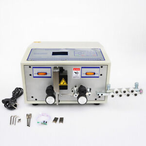 Ston Automatic Computer Wire Peeling Stripping Machine Cable Cutting 0 1 2 5mm