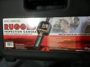 Whistler Rugged Inspection Camera video Recorder Model Wic 960s