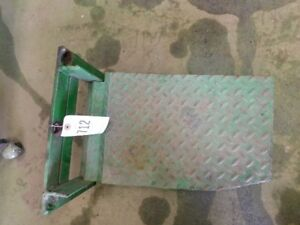 John Deere 4020 Tractor Homemade Tool Box Step Tag 712