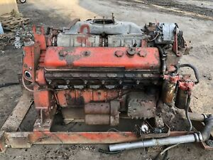 Detroit 12v71 Engine Good Tested Runner Industrial Gm Terex Generator Pump