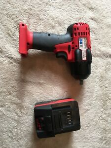 Snap On Ct8810a Impact Wrench And One Lithium Battery New