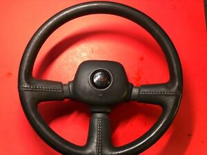 1976 And Up Gm Steering Wheel 3 Spoke Oem Gray Used