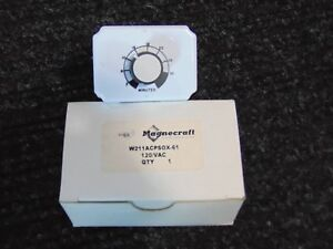 New Magnecraft Time Delay Relay 120v 2 30 Minutes W211acpsox 61