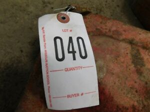 1 Mf Rear Combine Weight Tag 040