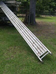 Werner Aluminum Walk Board used very Good Condition