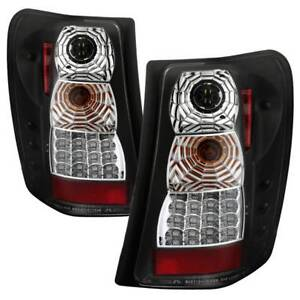 Spyder Led Tail Lights Version 2 Black For 99 04 Jeep Grand Cherokee