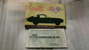 Corvette 1966 Owner S Guide First Edition With O P Plate