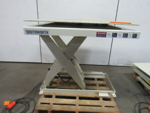 Lift Table Information On Purchasing New And Used