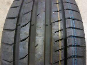 225 40 18 Continental Sport Contact 5 40r R18 Single Tire 17657