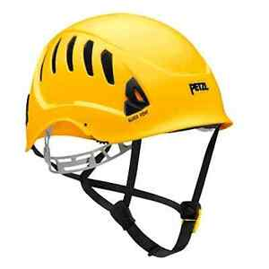 Petzl Alveo Vent Ansi Rescue Helmet Yellow A20vya W free Bag
